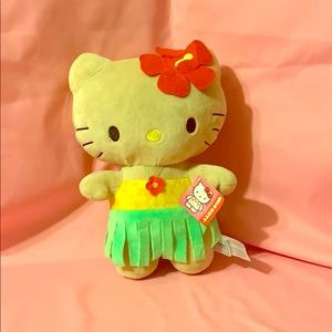 Hello Kitty Hawaiian Luau plush 🌺